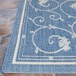 Product Image of Champagne, Blue (1583-1212) Traditional / Oriental Area Rug