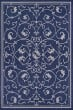 Product Image of Traditional / Oriental Indigo, Ivory (1583-6500) Area Rug