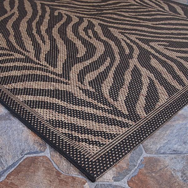 Black, Cocoa (1514-0121) Outdoor / Indoor Area Rug