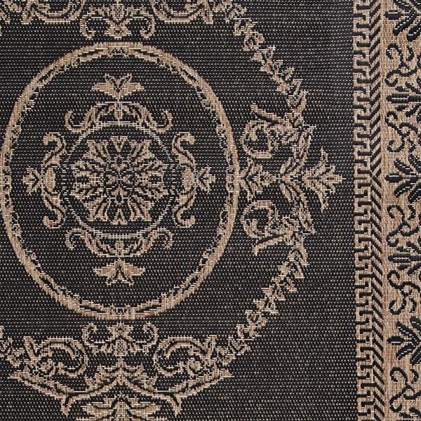 Black, Cocoa (1078-3115) Traditional / Oriental Area Rug