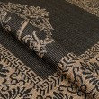Product Image of Black, Cocoa (1078-3115) Traditional / Oriental Area Rug