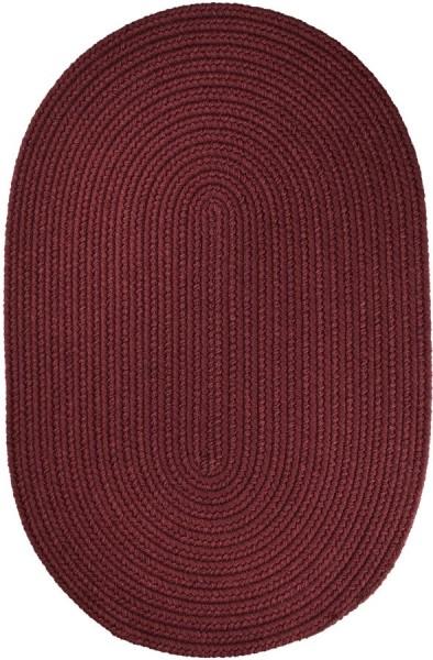 Burgundy (T-022) Outdoor / Indoor Area Rug