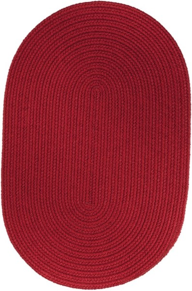 Brilliant Red (T-045) Country Area Rug