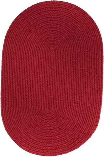 Brilliant Red (T-045) Outdoor / Indoor Area Rug