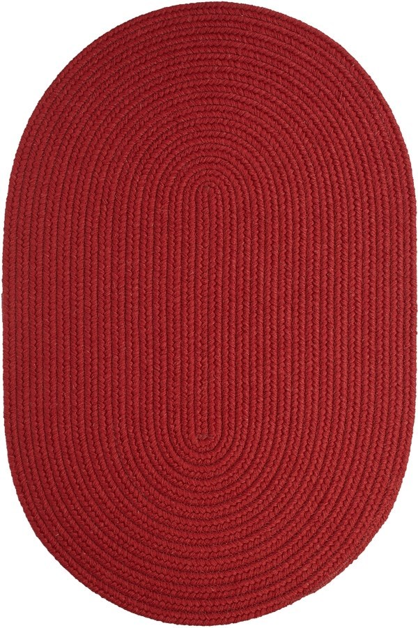Barn Red (PR-40) Country Area Rug