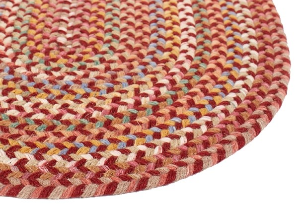 Barn Red (PR-46) Country Area Rug