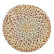 Product Image of Earth Beige (CU-57) Country Area Rug