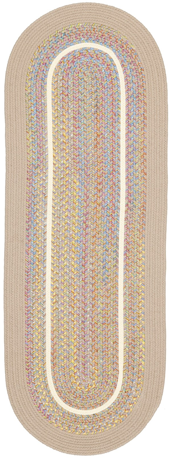 Sand, Beige (03) Country Area Rug