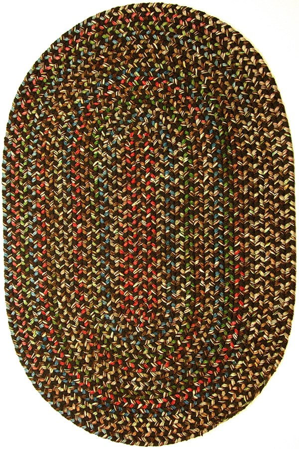 Brown (33) Country Area Rug
