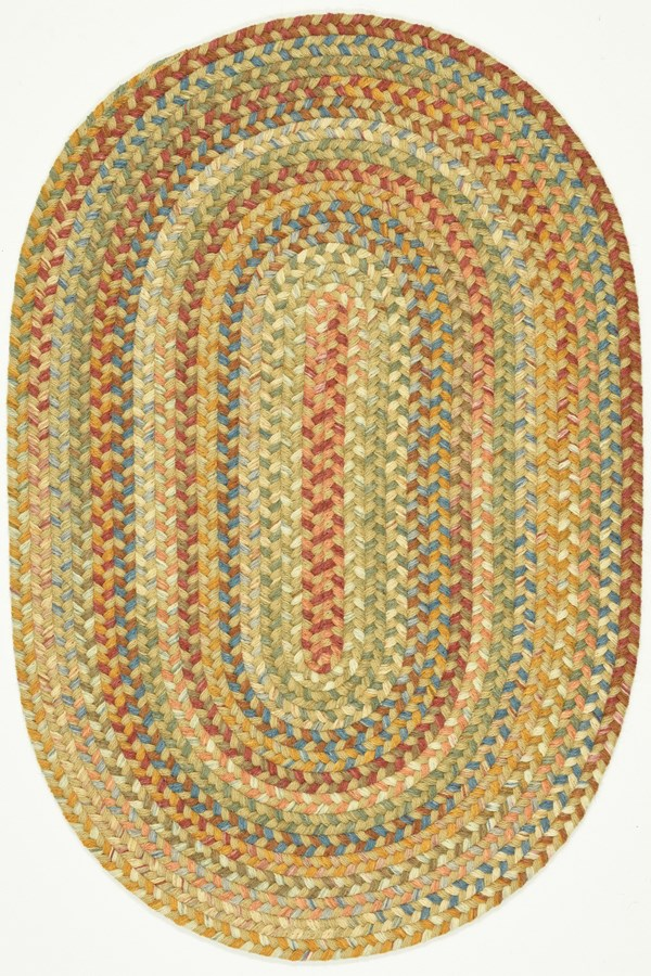 Wheat (58) Country Area Rug