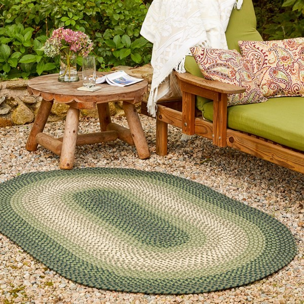 Dark Sage (SM-22) Outdoor / Indoor Area Rug