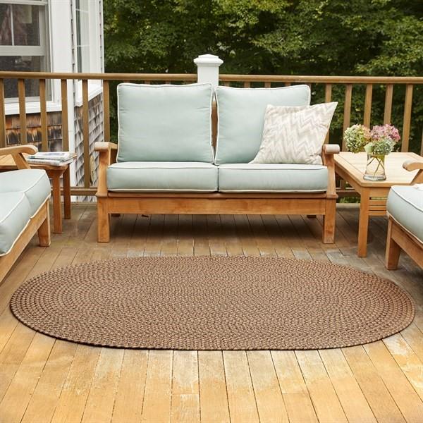 Brown (WC-36) Outdoor / Indoor Area Rug