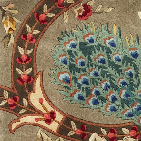Sage (732) Floral / Botanical Area Rug