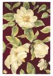 Product Image of Floral / Botanical Red (760) Area Rug