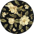 Product Image of Black (761) Floral / Botanical Area Rug