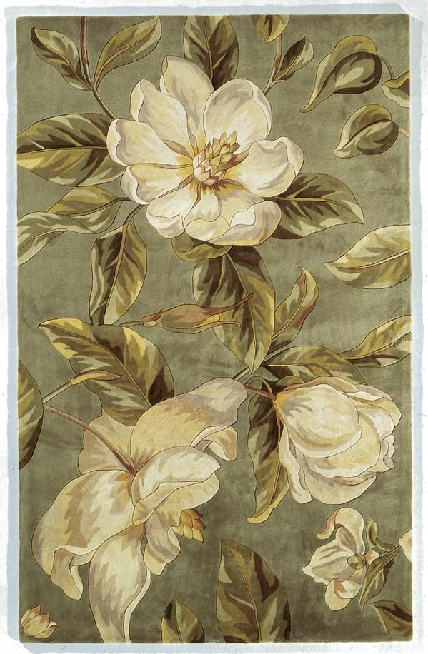 Sage (768) Floral / Botanical Area Rug
