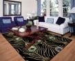 Product Image of Black (738) Contemporary / Modern Area Rug