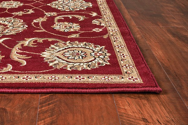Red (7355) Traditional / Oriental Area Rug