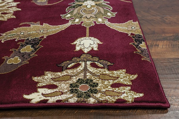 Red (7364) Traditional / Oriental Area Rug