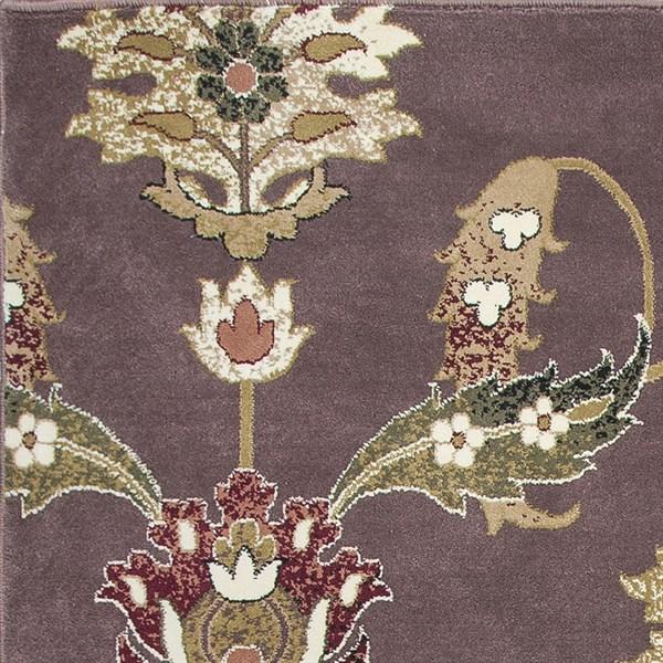 Plum (7363) Traditional / Oriental Area Rug
