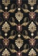 Product Image of Traditional / Oriental Black (7366) Area Rug