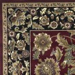 Product Image of Red, Black (7301) Traditional / Oriental Area Rug