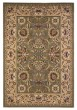 Product Image of Traditional / Oriental Green, Taupe (7304) Area Rug