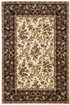 Product Image of Ivory, Black (7310) Floral / Botanical Area Rug