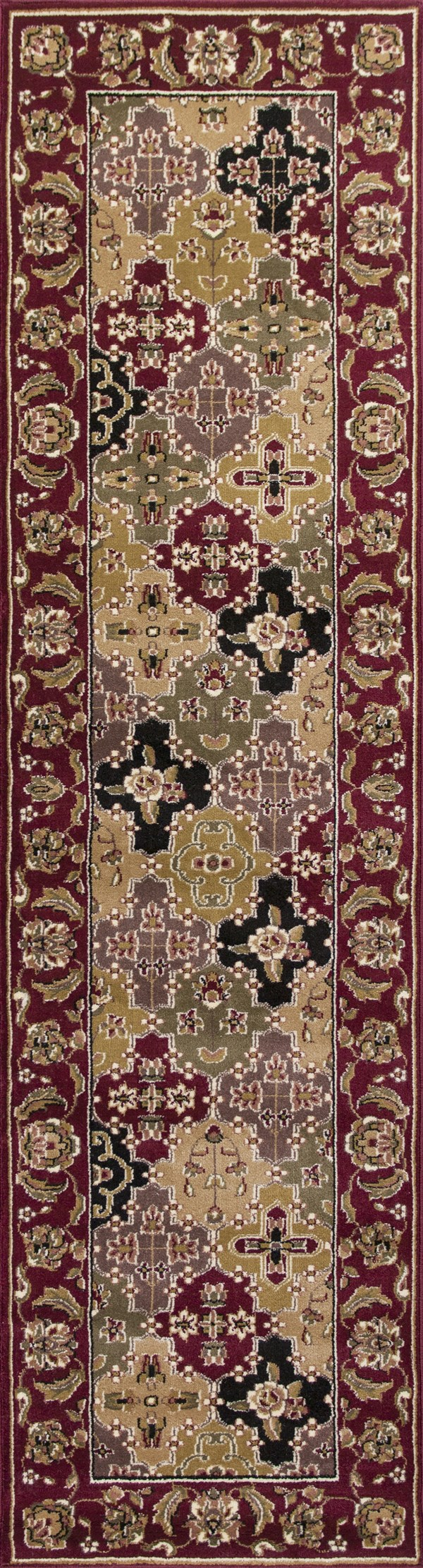 Red (7325) Traditional / Oriental Area Rug