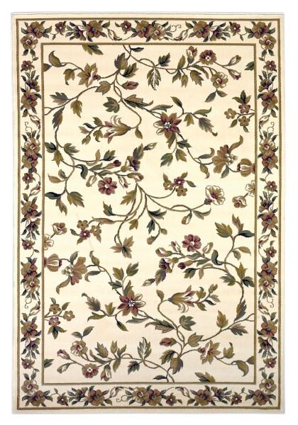 Ivory (7331) Floral / Botanical Area Rug
