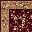 Product Image of Red, Beige (7337) Floral / Botanical Area Rug