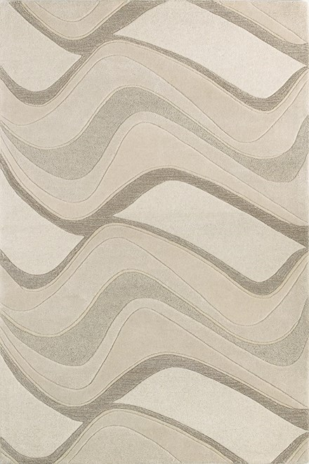 Ivory (1085) Contemporary / Modern Area Rug