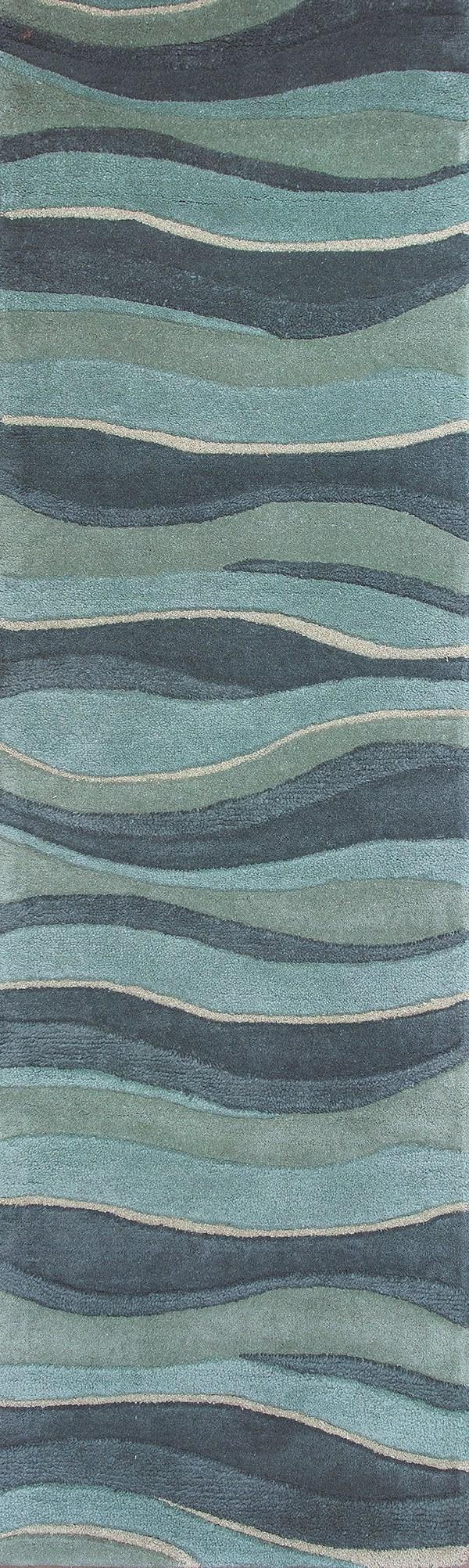 Kas Eternity Landscapes Rugs Wool Modern Area Rugs
