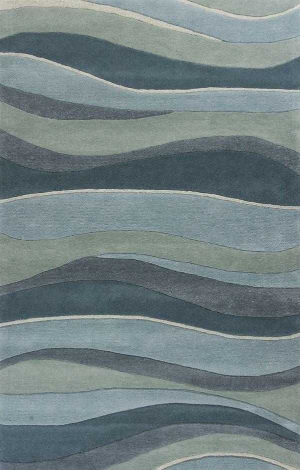 Ocean (1053) Contemporary / Modern Area Rug