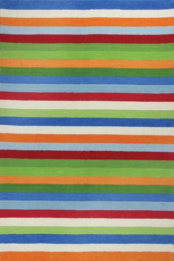 Kidding Around Cool Stripes arearugs