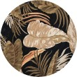 Product Image of Midnight (2616) Floral / Botanical Area Rug
