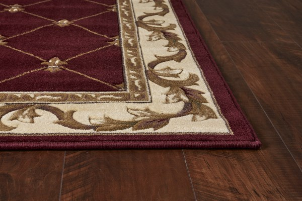 Red (5319) Traditional / Oriental Area Rug