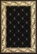 Product Image of Traditional / Oriental Black (5321) Area Rug