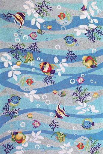 Sonesta Tropical Fish arearugs