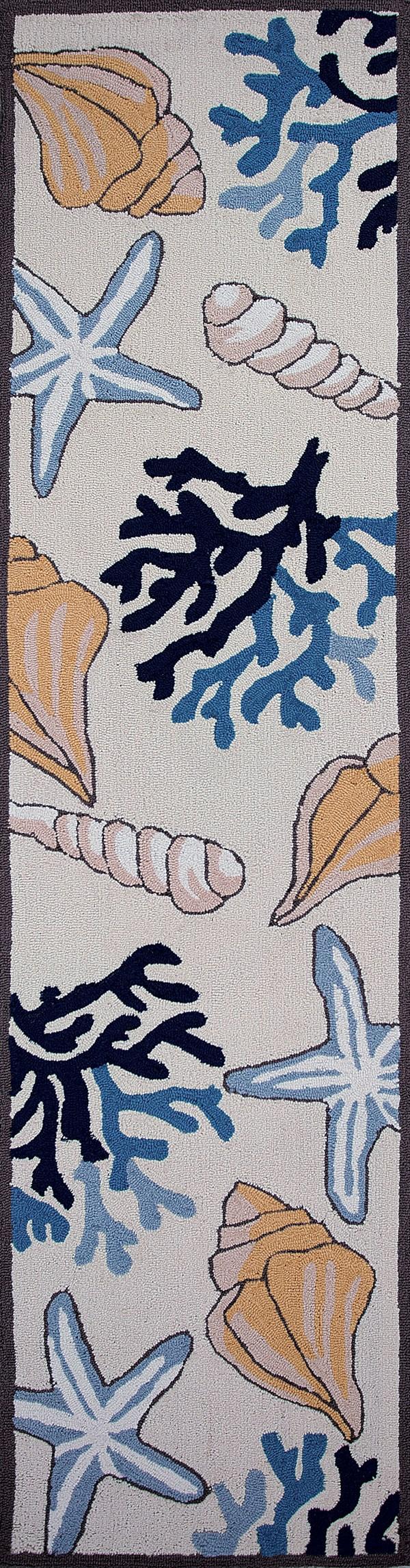Ivory (2036) Beach / Nautical Area Rug