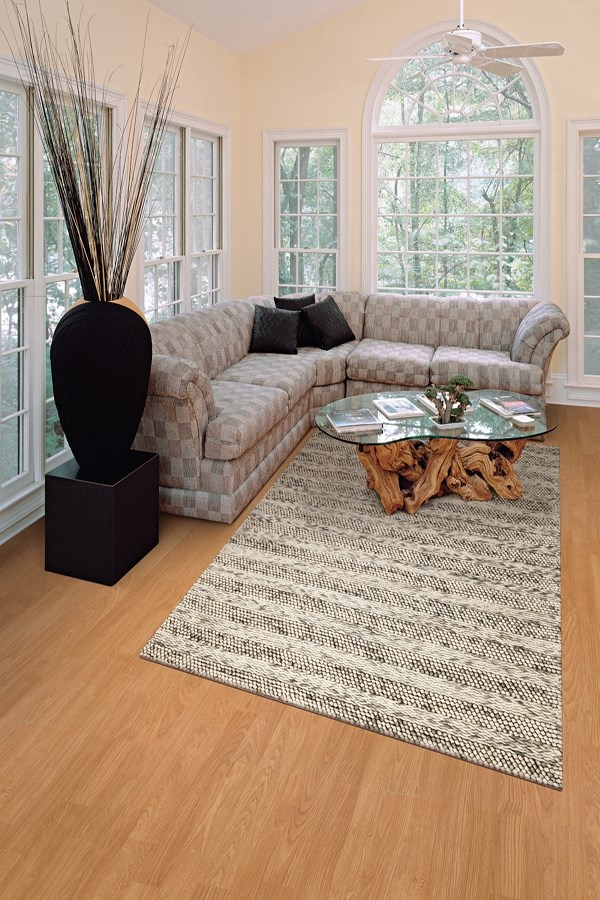 Grey (6152) Casual Area Rug