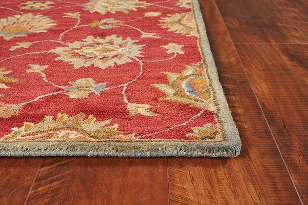 Red (6003) Traditional / Oriental Area Rug