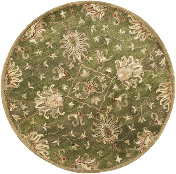 Emerald Green (6010) Traditional / Oriental Area Rug