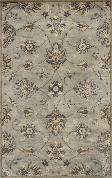 Grey (6028) Traditional / Oriental Area Rug