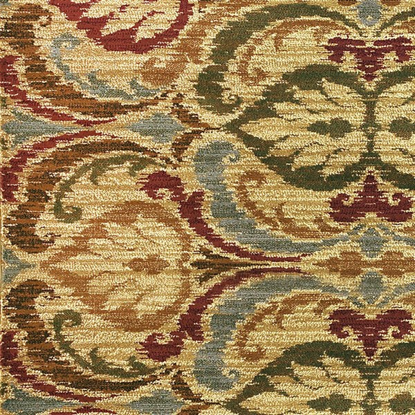 Gold (5466) Transitional Area Rug