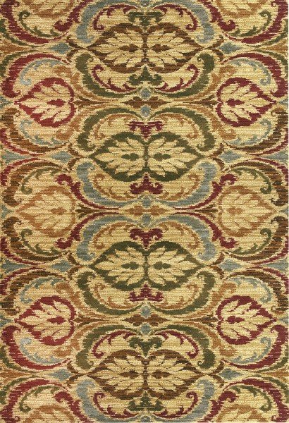 Gold (5466) Contemporary / Modern Area Rug