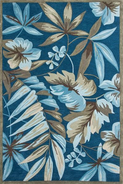 Ocean (4150) Floral / Botanical Area Rug