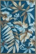 Product Image of Floral / Botanical Ocean (4150) Area Rug