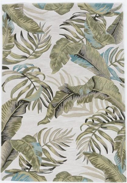 Ivory (4173) Floral / Botanical Area Rug