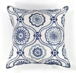 Product Image of Moroccan Ivory, Blue (L-113) pillow